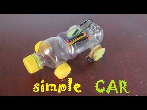 How To Make A Car Using Plastic Bottle Toy Car Youtube
