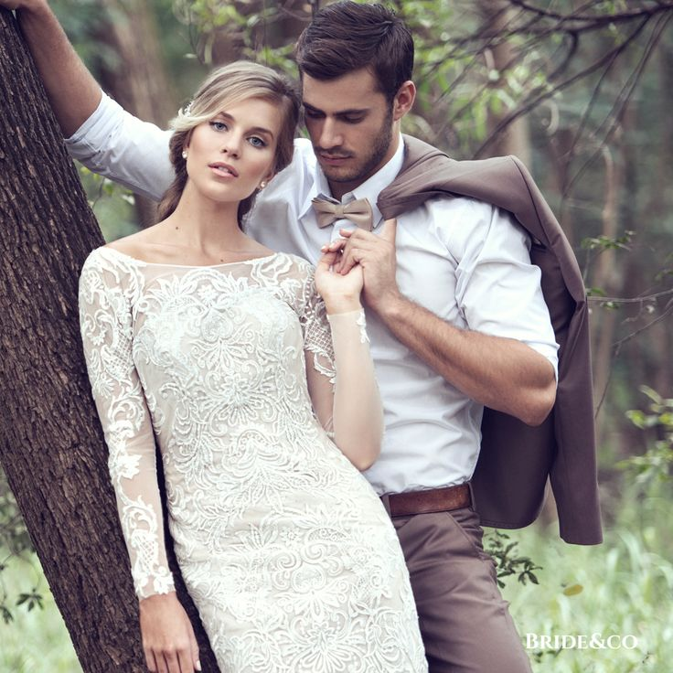 When you're in #love, and looking and feeling amazing, it shows on your wedding day. Set the tone for the rest of your life as Mr + Mrs with magnificent #weddingdresses for Her from Bride&co & stylish #suits for Him from our in-store #Eurosuit.   Click to book a free fitting online with a Personal Style Consultant.   #weddingcouple #powercouple #mrandmrs #bride #groom #brideandgroom #brideandco #inlove #southafrica