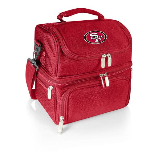 NFL Collectibles - Pranzo Lunch Tote (San Francisco 49ers) Digital Print - Red