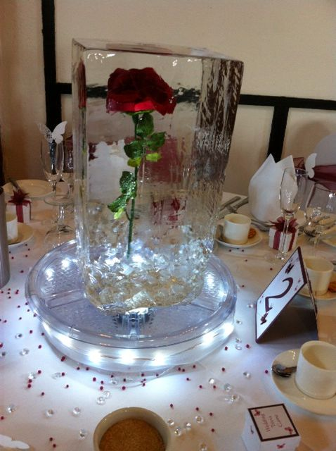 Images about ice table centrepieces on pinterest