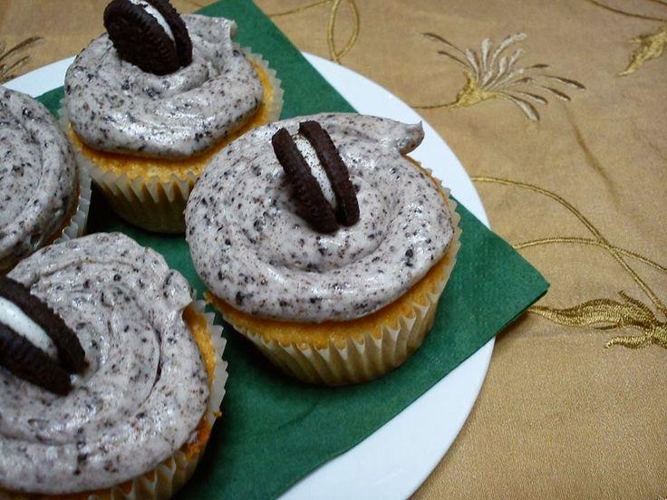 Cupcakes oreo   Olga'scuisine.gr