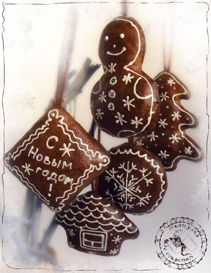 Christmas scented toys DIY(новогодние ароматизированные игрушки мастер-класс)