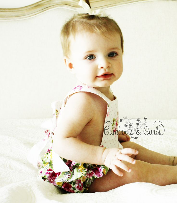 Pippa Ruffle Romper $39.95 http://www.gumbootsandcurls.com.au/collections/baby-girls-0-1-yrs