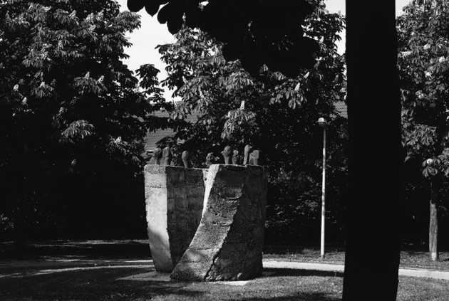 Herman Makkink, zonder titel (1988), Waterwijk, Almere Stad. © Jannes Linders, Museum De Paviljoens