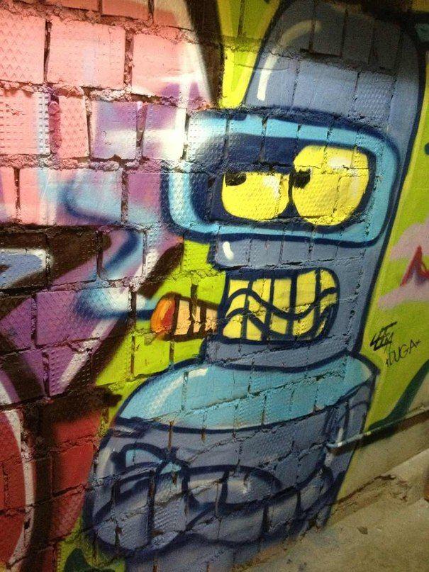 25 best images about futurama . street art on Pinterest ...