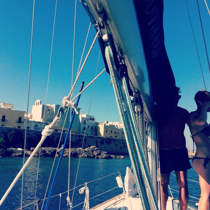 Sailing in Puglia !