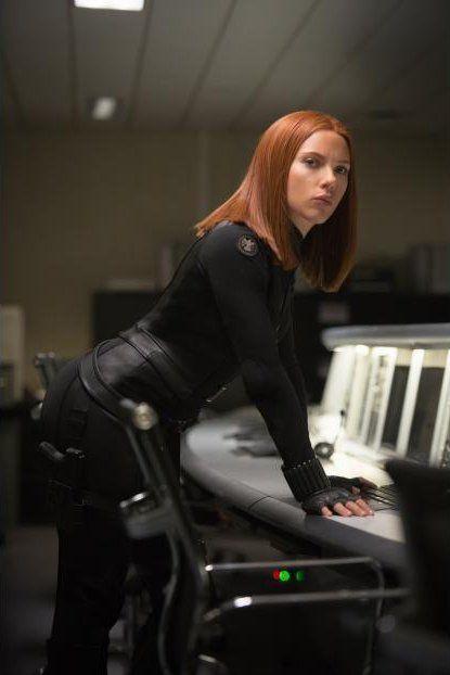 Scarlett Johansson in Capitán América: El Soldado de Invierno (2014)