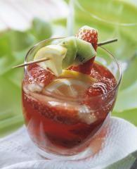 Erdbeer-Kiwi-Bowle (alkoholfrei)