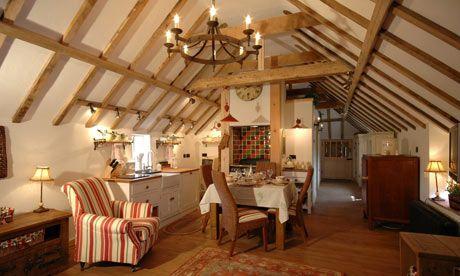 Barn loft ceiling should look like this.  3.2.13