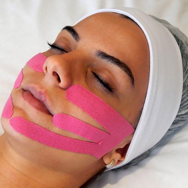 miotaping massagem rejuvenescedora facial