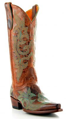 Cowboy Boots I LOVE!!! ... Womens Old Gringo Diego Boots Turquoise  #Old_Gringo #Boots #Turquoise