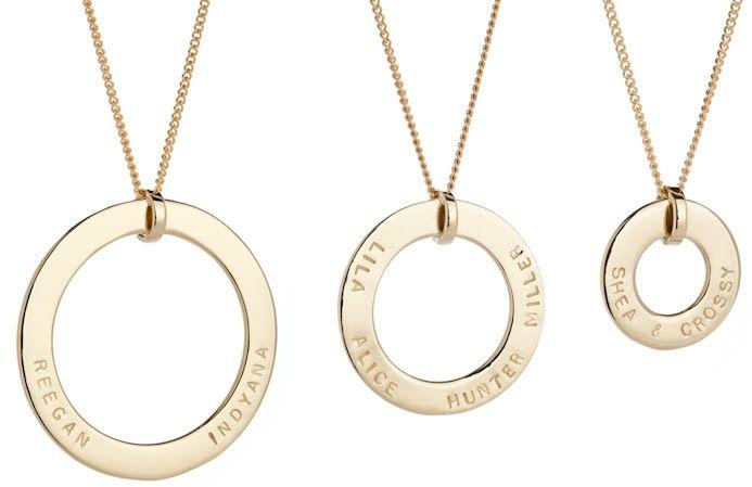 VICTORIA, GRACE & CATHERINE pendants. http://www.koolamandesigns.com.au/shop/gold-pendants-c-149.html