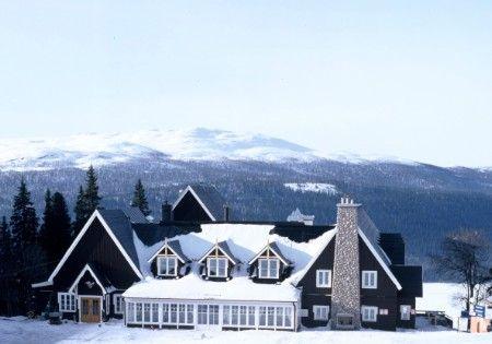 Ski resort Fjällgården in Åre, Jämtland
