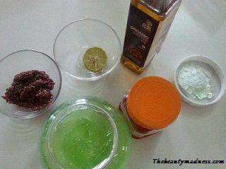 straightening ingredients