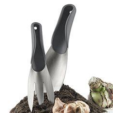 garden tool set stone grey