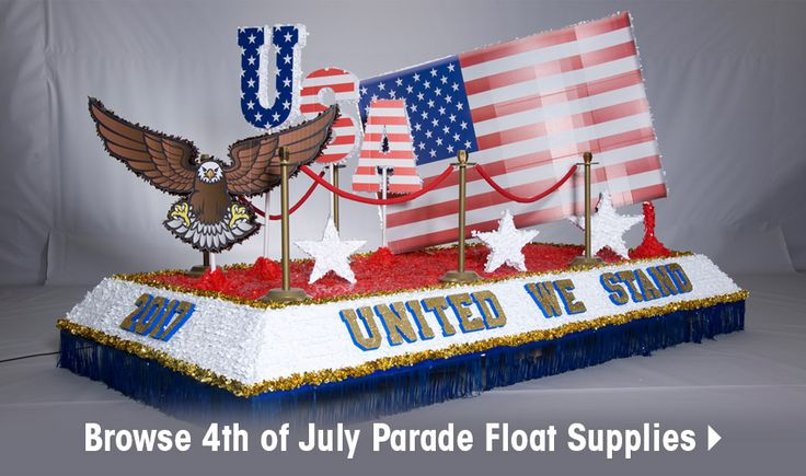 Complete 4th of July Parade Float Decorating Kit