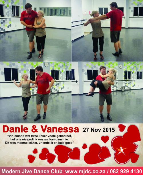 Congratulations Danie & Vaness.  www.mjdc.co.za / 0829294130