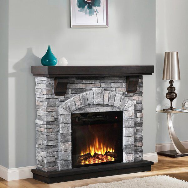 Manford Electric Fireplace Electric Fireplace Stone Electric Fireplace Wall Mount Electric Fireplace