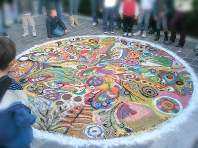 Mandala Cangiante d'autunno  arteamorefantasia.blogspot.com