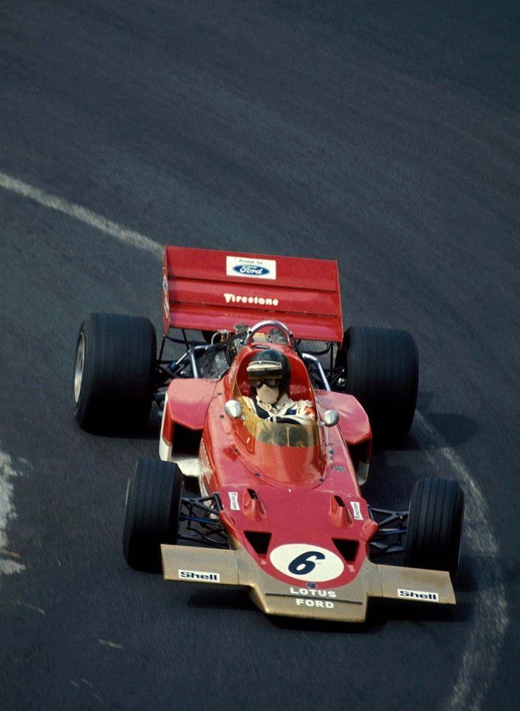 Jochen Rindt (France 1970) by F1-history on DeviantArt