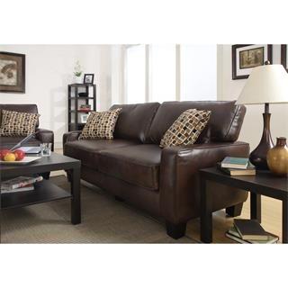 Check out the Serta at Home CR43533P Monaco Sofa in Brown priced at $656.99 at Homeclick.com.