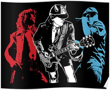 """Heavy Metal Band Posters 
