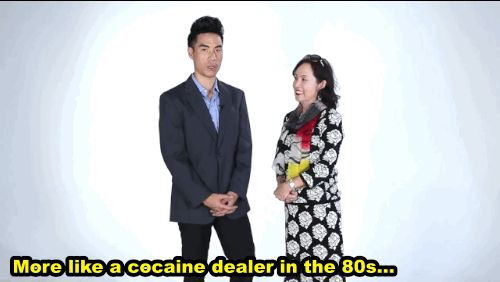 """""""More like a cocaine dealer in the '80s."""" 