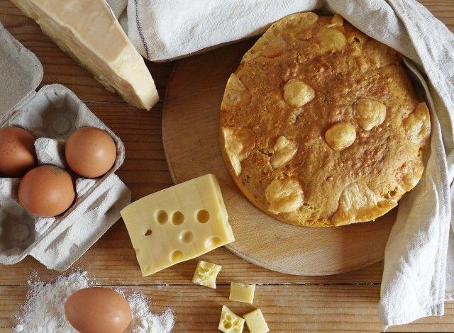Pizza di Formaggio: just delicious! #cheese #recipe #italian #marche #food