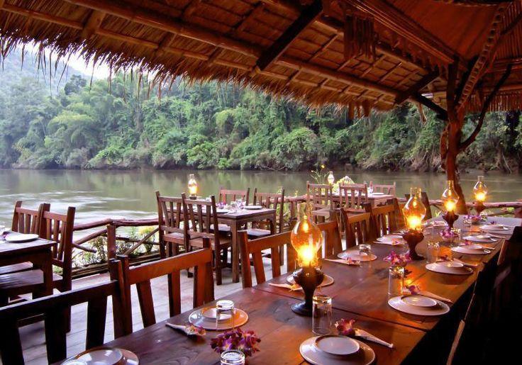 River Kwai Jungle Rafts : Kanchanaburi, Thailand
