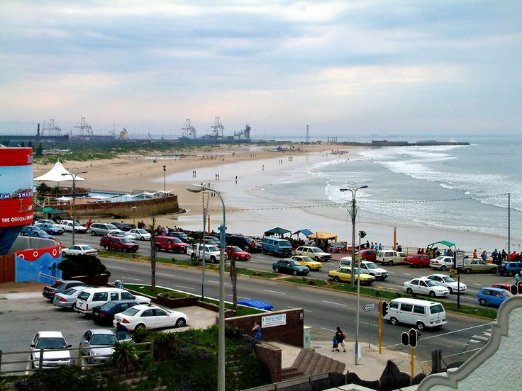 A landscape of Port Elizabeth, South Africa.