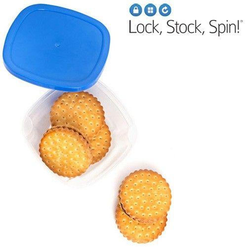 . Cumpărați acum acest uimitor și practic set de bucătărie! Cu caserole din plastic Lock Stock Spin puteți păstra alimentele în condiții perfecte și să depozitați recipientele Tupperware ușor și confortabil. Set de caserole oferite de BigBuy  este foarte util pentru un număr de scopuri diferite. Lock Stock Spin are un design exclusiv și original, care face mai ușoară depozitarea, ajutându-vă să economisiți spațiu și timpul necesar pentru găsirea recipientului de care aveți nevoie.