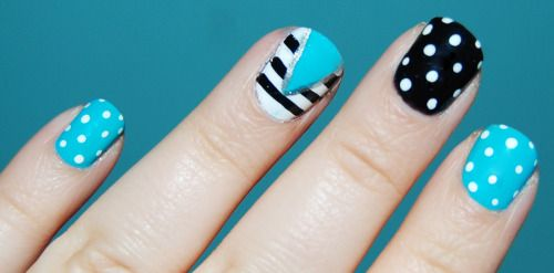 Polka-dots and Stripes on MakeupBee