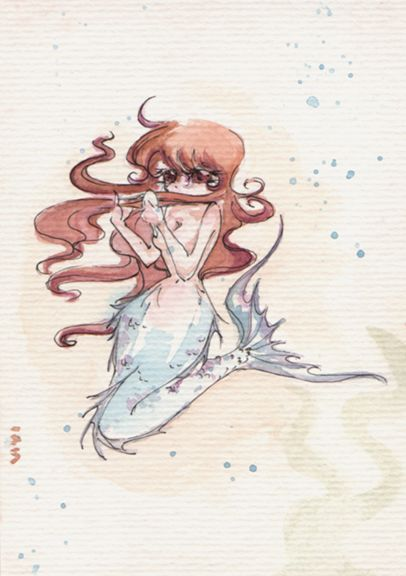 Day 67 - Mermaid 3 - Vivi Ribeiro | Flickr (cc)