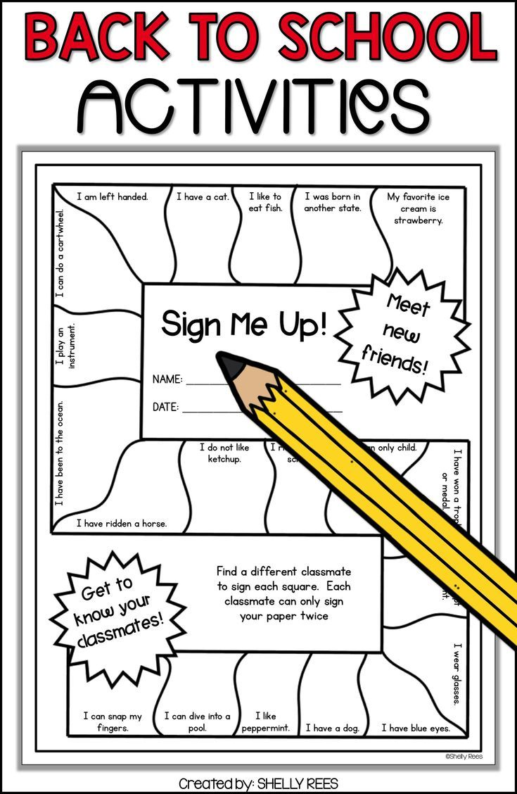 small resolution of Back to school ideas and activities are easy and fun for 3rd grade