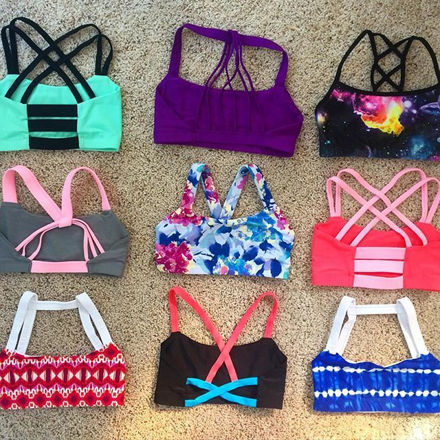 This site has the CUTEST sports bras! In Love!!