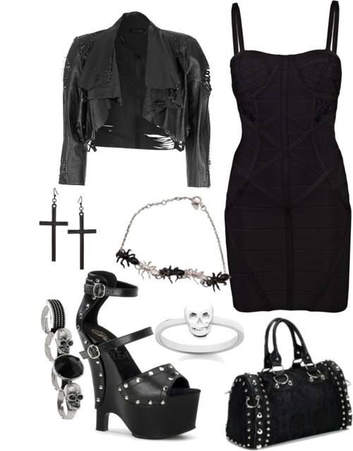 ☮✿★ GOTH FASHION ✝☯★☮ Outfit idea - RebelsMarket Gothic