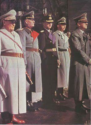 Third Reich Color Pictures: Generalfeldmarschall Wilhelm Keitel