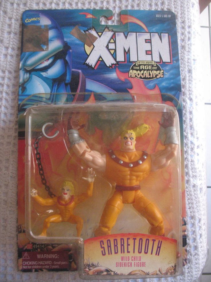 X-Men After Xavier: The Age of Apocolypse Sabretooth Action Figure