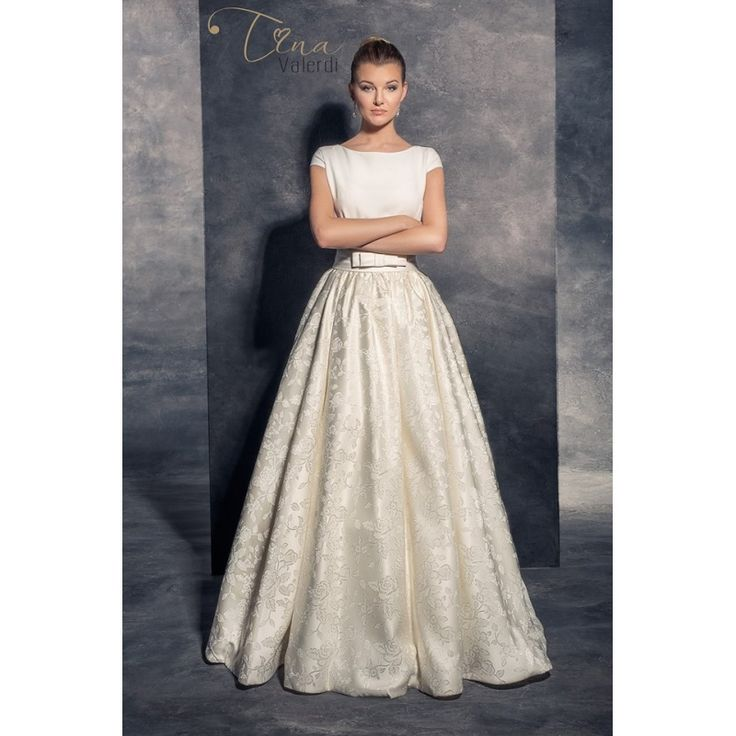 Dlhé nádherné svadobné šaty na predaj