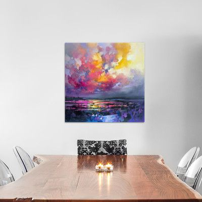 """East Urban Home Binding Energy I Painting Print on Wrapped Canvas Size: 26"""" H x 26"""" W x 0.75"""" D"""