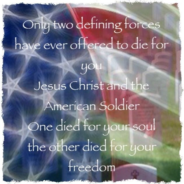 Memorial Day Thank You Quotes: Thank You Jesus & Thank You Veterans