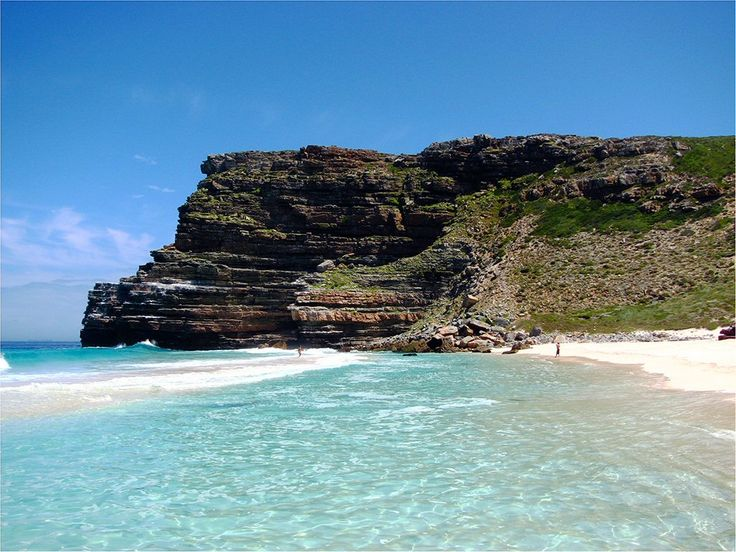 Dramatically surrounded by sheer craggy cliffs, Diaz Beach is situated right at the tip of Cape Point on the western side. It...