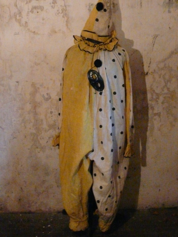 antiek clown kostuum   antique clown costume