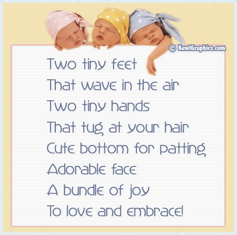 Two Tiny Feet Poem Graphic Babies Baby Poems Graphics Kewl