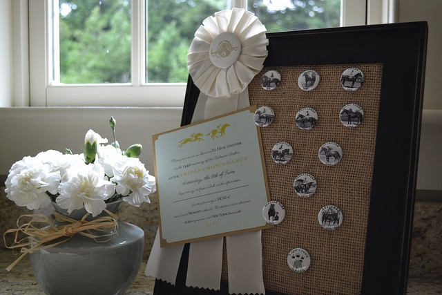 Triple Crown winner display for Belmont Stakes party