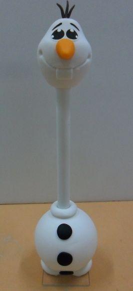 olaf frozen caneta decorada