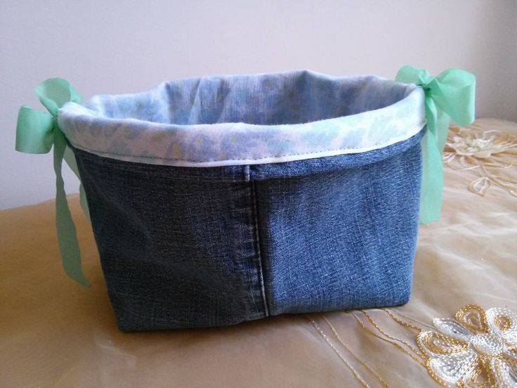 Basket Handmade - Recycled Materials