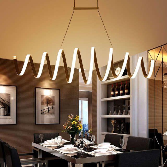 minimalisme moderne led lampes