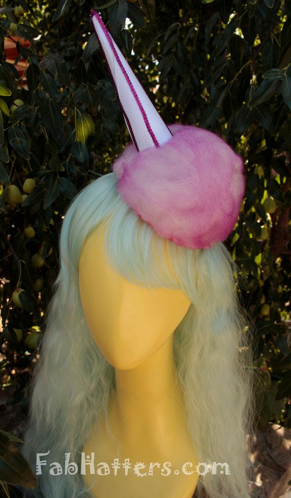 Pink Cotton Candy Fascinator Headpiece - Other Colors Available!