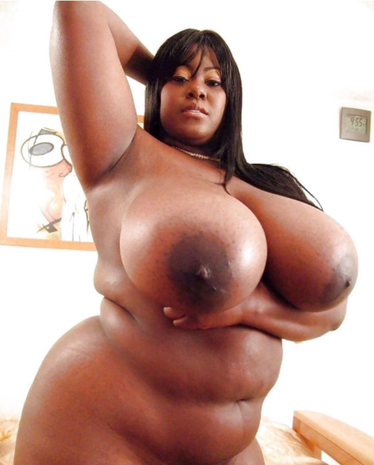Black woman with big breast